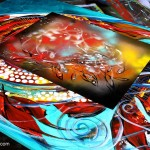 Artist Blog  Inspirations Modern Abstract Fish Art Artwork Paintings J Vincent Scarpace