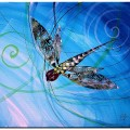 """""""Abstract Dragonfly, 14″ (2015)"""