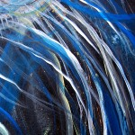 Two in Blues  Modern Abstract Fish Art Artwork Paintings J Vincent Scarpace
