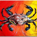 """""""Abstract Blue Crab"""" (2015)"""