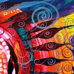 Sane via Color Alive with Insanity  Modern Abstract Fish Art Artwork Paintings J Vincent Scarpace