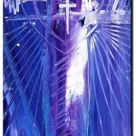 Subtlety of Christ  Modern Abstract Fish Art Artwork Paintings J Vincent Scarpace