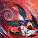Moon Spectrum   Modern Abstract Fish Art Artwork Paintings J Vincent Scarpace