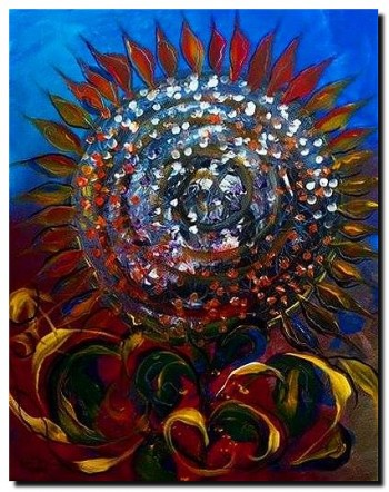 Beauty and Criteria  Modern Abstract Fish Art Artwork Paintings J Vincent Scarpace