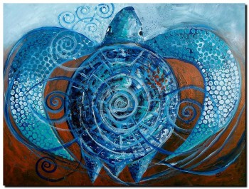 Monument Sand and Salty Surf  Modern Abstract Fish Art Artwork Paintings J Vincent Scarpace