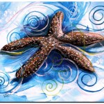 The Story of the Worlds Ugliest Starfish  Modern Abstract Fish Art Artwork Paintings J Vincent Scarpace