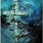 Carnival of Virtues Fish  Modern Abstract Fish Art Artwork Paintings J Vincent Scarpace