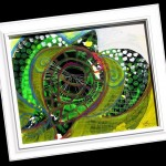 greenseaturtleabstract_framed_whole