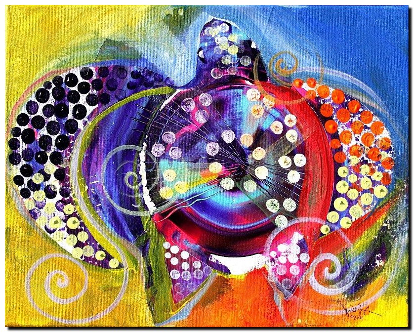 Abstract Butterfly   Modern Abstract Fish Art Artwork Paintings J Vincent Scarpace