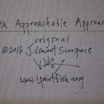 An Approachable Approach  Modern Abstract Fish Art Artwork Paintings J Vincent Scarpace