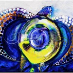 Pinnacled Perfection  Modern Abstract Fish Art Artwork Paintings J Vincent Scarpace