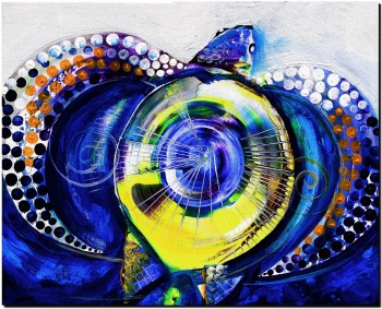 Pinnacled Perfection  Abstract Fish Art Artwork Paintings J Vincent Scarpace