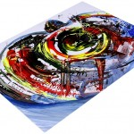 Focus Sea Turtle Embryo  Modern Abstract Fish Art Artwork Paintings J Vincent Scarpace