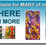 Home Page Header Text Modern Abstract Fish Art Artwork Paintings J Vincent Scarpace