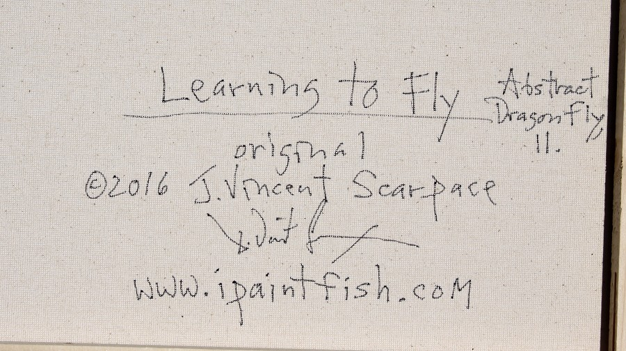 Learning to fly abstract dragon fly 11 2016 for Learning to fly fish