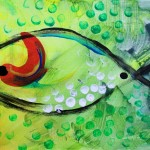 Simple Fish  Modern Abstract Fish Art Artwork Paintings J Vincent Scarpace