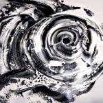 Abstract Goliath Grey Grouper  Modern Abstract Fish Art Artwork Paintings J Vincent Scarpace