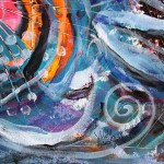 Demo Fish  Modern Abstract Fish Art Artwork Paintings J Vincent Scarpace