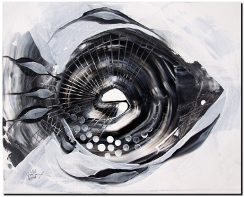 X Ray Fish  Modern Abstract Fish Art Artwork Paintings J Vincent Scarpace