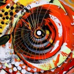 The Way  Modern Abstract Fish Art Artwork Paintings J Vincent Scarpace