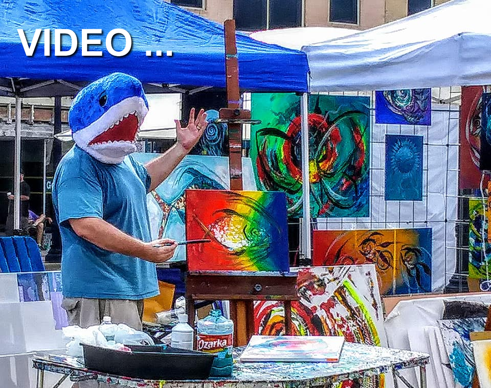 Artist Blog  Video Modern Abstract Fish Art Artwork Paintings J Vincent Scarpace