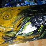 Artist Blog  Inspirations  Photo Archive Modern Abstract Fish Art Artwork Paintings J Vincent Scarpace