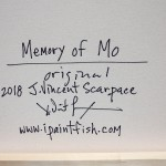 Memory of Mo  Modern Abstract Fish Art Artwork Paintings J Vincent Scarpace