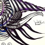 Asynchronous Hate Fish  Modern Abstract Fish Art Artwork Paintings J Vincent Scarpace