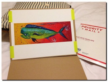 Artist Blog  Customer Gallery Abstract Fish Art Artwork Paintings J Vincent Scarpace